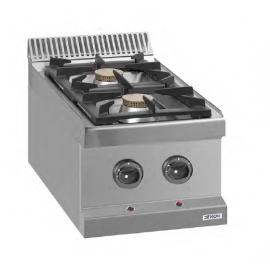 Cocina gas sobremesa 700 MM fondo 14000W