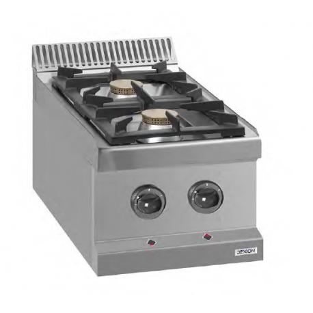 Cocina Gas Con Horno 700 Mm Fondo 42000w