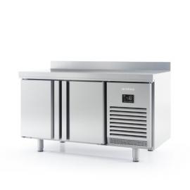 Mesa de refrigeración 2 puertas 600mm fondo