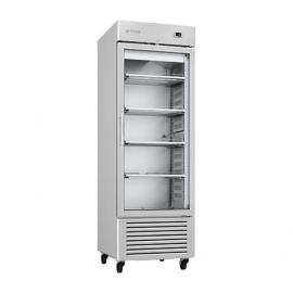 Armario de refrigeración 610L Puerta de cristal