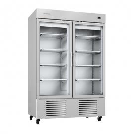 Armario de refrigeración 1350L Puerta de cristal