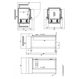 FILTRO ELECTROESTATICO INDUSTRIAL. CAUDAL MAXIMO 3750 SAN 4-31